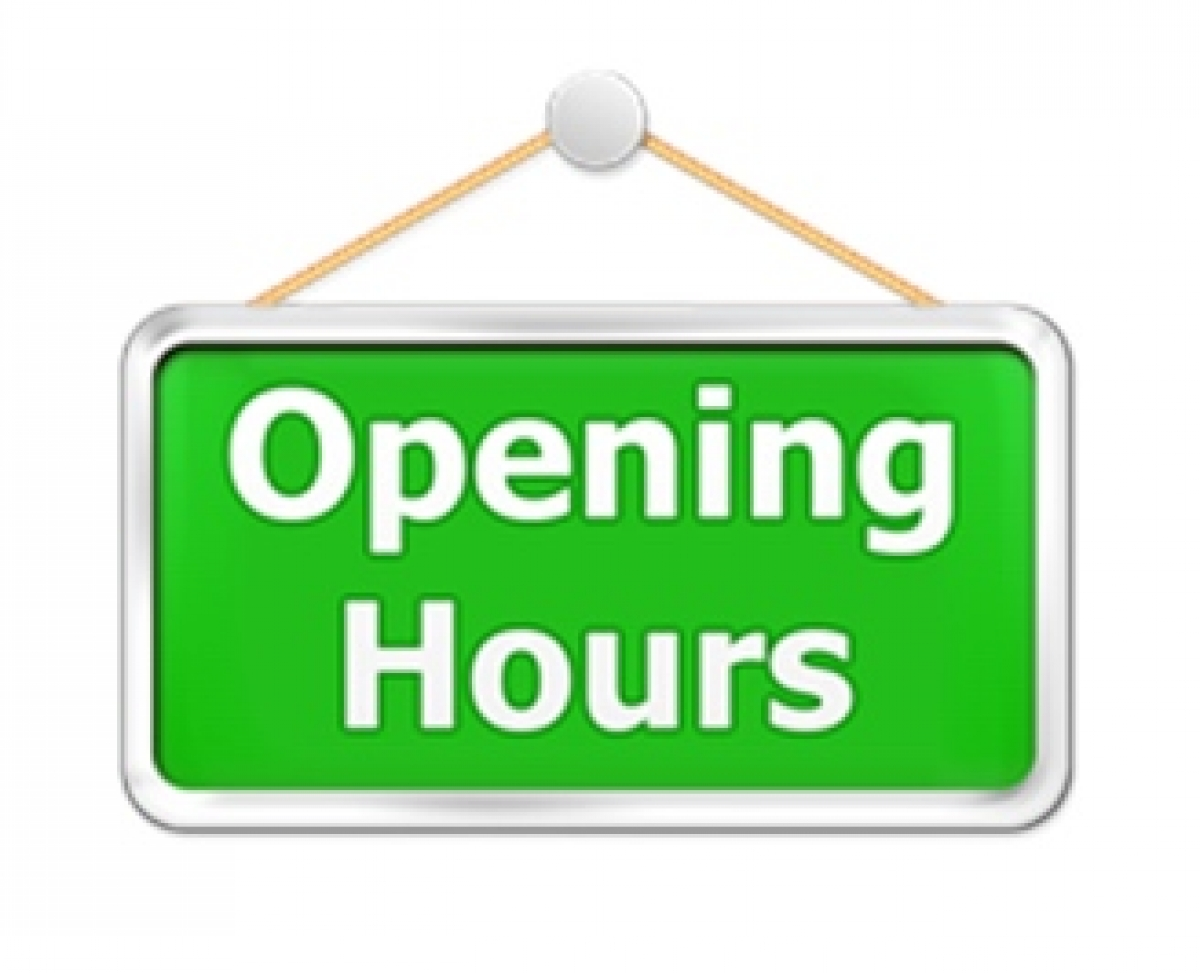 Image result for opening hours